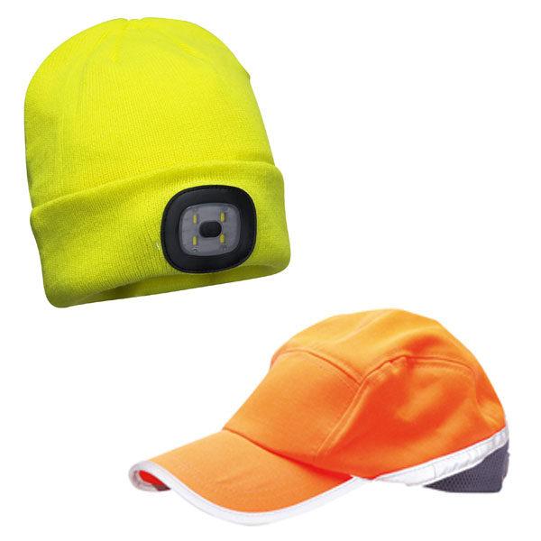 Καπέλα - Σκούφοι Υψηλής Ορατότητας